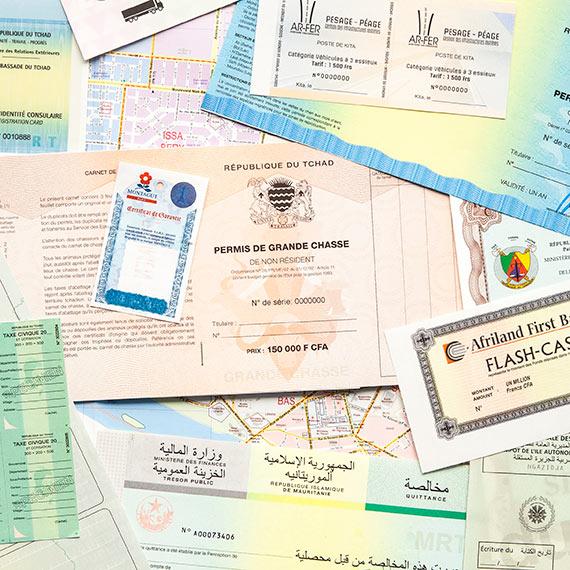 documents sécurisés