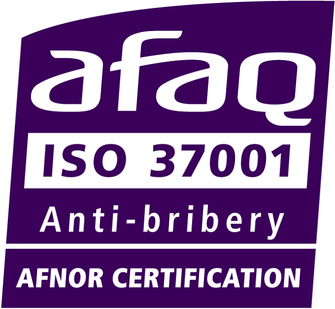 Oberthur is pleased to announce its accreditation for ISO 37001